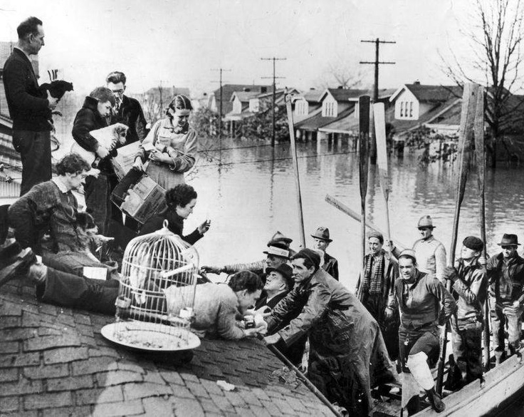 Image result for february 3, 1937 great flood