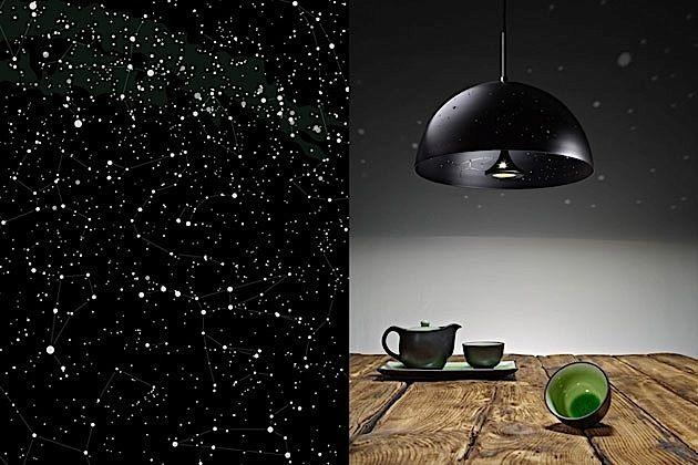 Starry Lights – die Sternenhimmel-Lampe