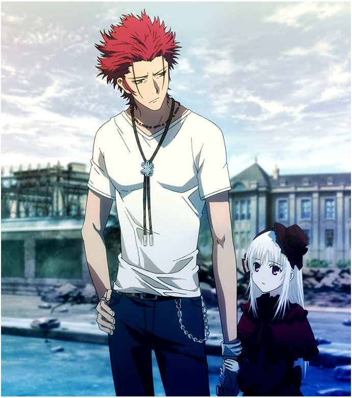 Suoh Mikoto & Anna | K-Project #anime - so much love!!