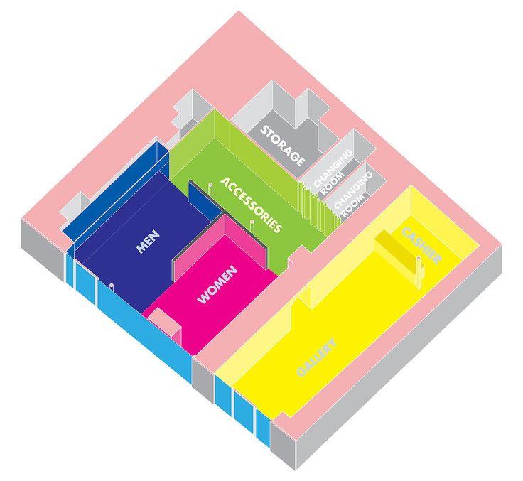 Programmatic diagram - Harmony by L'Atelier Senzu