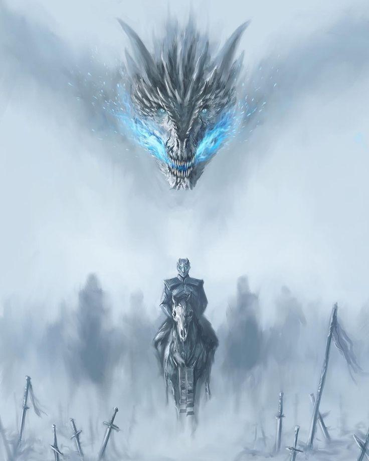 Hast du schon eine neue Game of Thrones-Episode gesehen? -Kredit: @ samdoesarts-Turn …
