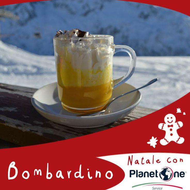Il bombardino è una caldissima e golosa bevanda a base di brandy, zabaione, panna e caffè tipica delle località sciistiche.  Il suo nome deriva dalla vampata di calore che provoca con la sua gradazione alcolica di circa 30° e durante il periodo natalizio viene servito anche nei Mercatini del Trentino.