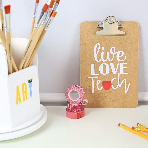 A sweet teacher appreciation gift always helps earn a few brownie points! Make…