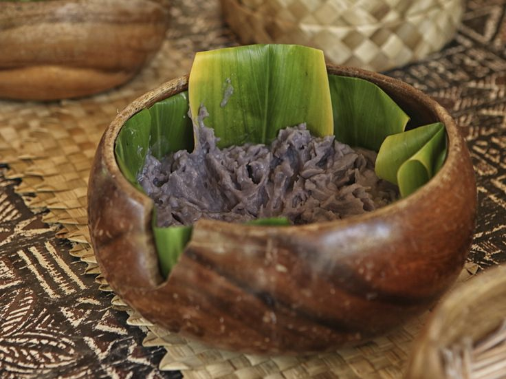 Poi: Hawaii's Recipe For Revitalizing Island Culture - Historians think poi, a sticky, nutritious food made from pounded taro root, has been eaten in the Hawaiian islands since the time of the ancient Polynesians.