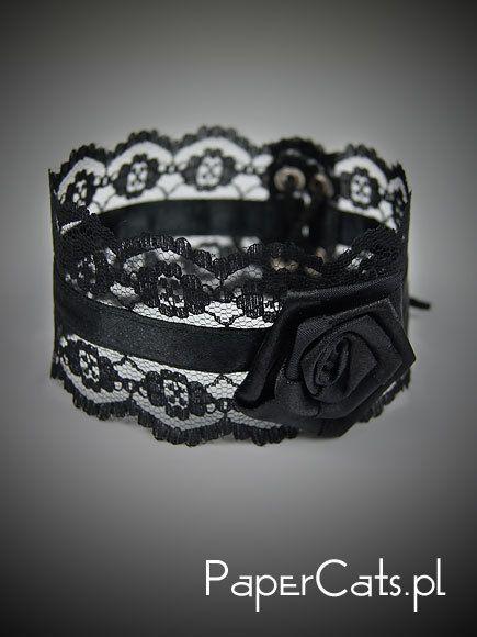 Black Choker Goth Burlesque Victorian Gothic Lolita.