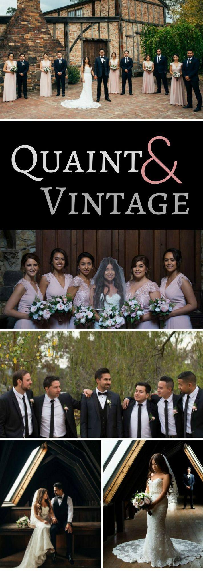 Quaint And Vintage Rustic Wedding