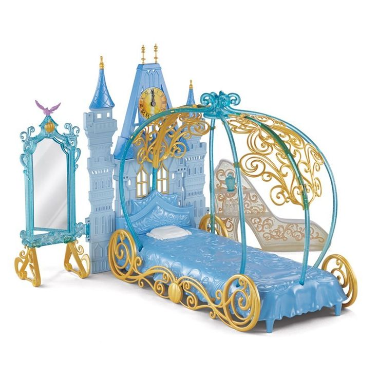 Playset Princesas Disney - Quarto da Cinderela - Mattel #brinquedo