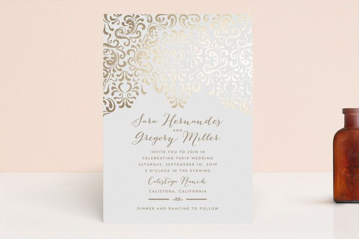 Black Tie Wedding by Chris Griffith at minted.com