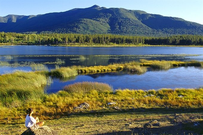 Go hiking in the nearby marshlands at Echo Valley Ranch & Spa. www.evranch.com