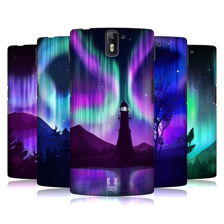 HEAD CASE NORTHERN LIGHTS BACK CASE FOR ONEPLUS ONE #HeadCaseDesigns