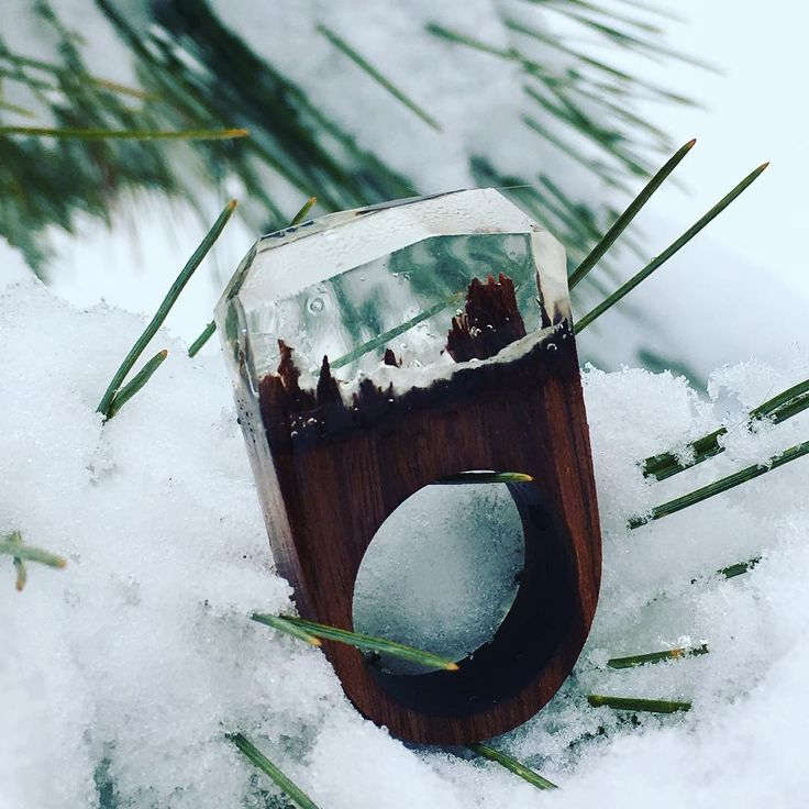 Coming Soon.. The Forest Collection #snowcap #woodengem #magikalmountainsjewelry