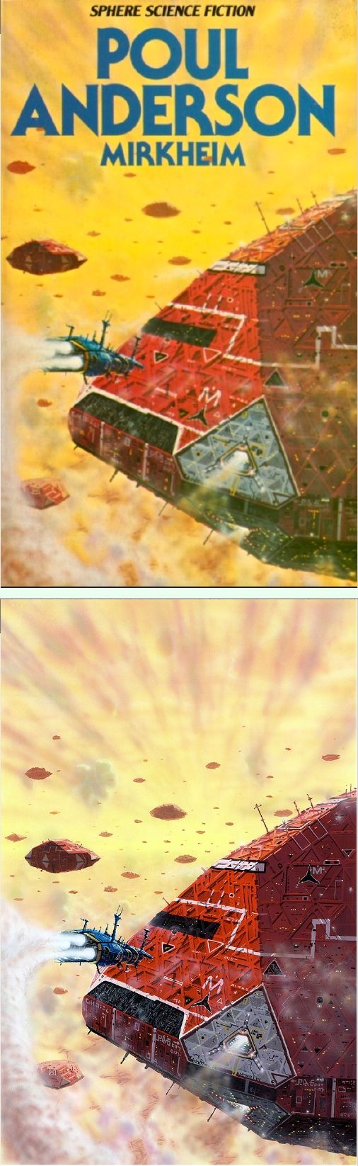 Watercolor book covers - Peter Elson Mirkheim By Poul Anderson 1978 Sphere Books Cover By Isfdb