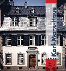 Karl Marx museum in Trier.