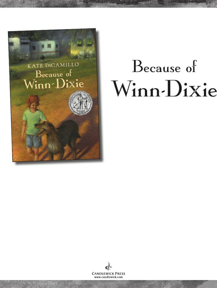 Because of Winn-Dixie - free PDF, EPUB, MOBI
