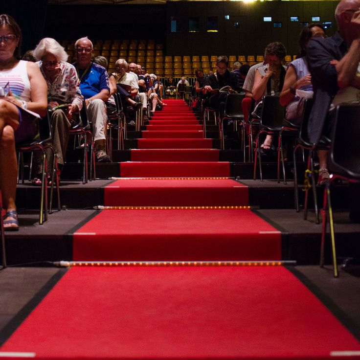 Fancy a walk on the red carpet?
