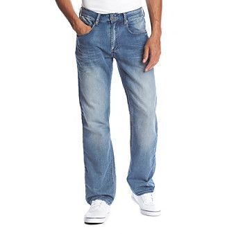 Buffalo by David Bitton Men's Fred-X Fleece Jeans