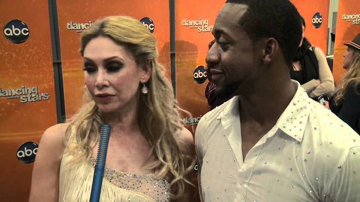 AfterBuzz TV Interviews Kym Johnson and Jaleel White @ DWTS May 1st, 2012