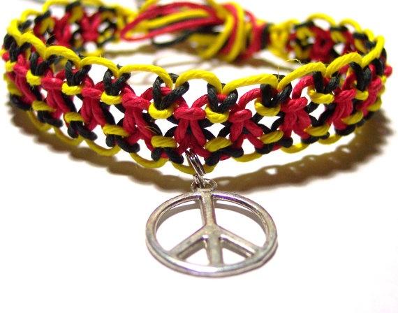 Home › Search Results › goodolddayshempshop › bracelets/anklets  hemp bracelet hemp anklet peace sign hemp jewelry