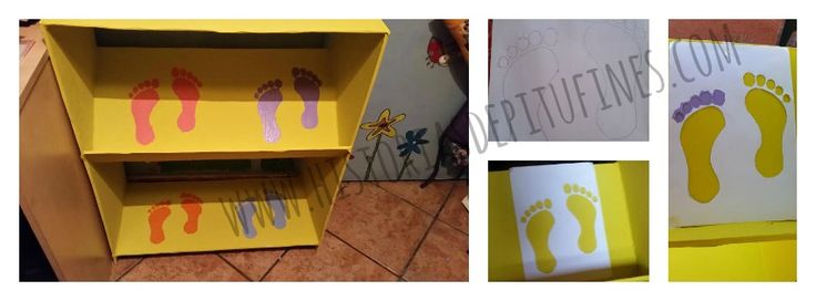 Seguimos #reciclando, esta vez solo necesitamos #cartón para crear un zapatero #infantil http://blgs.co/luEnmu