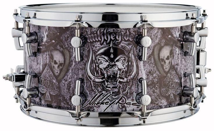 Sonor SSD12 Mikkey Dee Snare Drum - Thomann www.thomann.de #halloween #fun #skulls #halloweenparty #decoration #skull #skulls #instrument #demon #creepy #party #Halloween #drums #snare