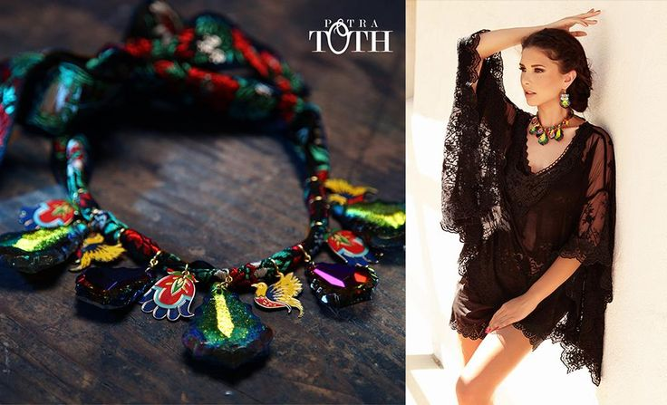 Necklace by Petra Toth Jewellery. www.petratoth.sk
