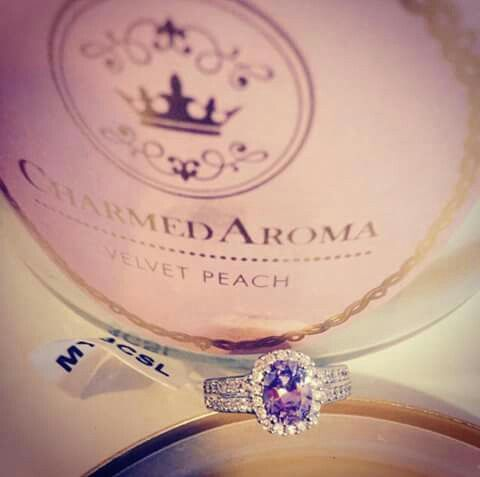 Visit www.charmedaroma.com today to place your order. Every Charmed Aroma Candle includes a specially wrapped, gorgeous diamond ring inside.