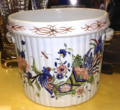 Large Cachepot Hand Painted In France For Tiffany Amp Co