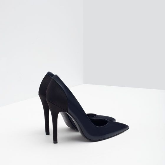 Image 5 of LEATHER HIGH HEEL SHOES from Zara