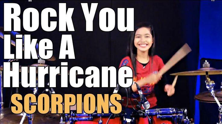 Scorpions - Rock You Like A Hurricane Drum Cover by Nur Amira Syahira