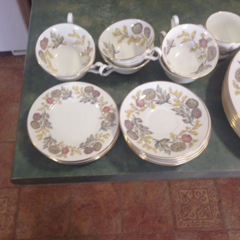 7 Place Setting of Wedgewood Lichfield China | kitchen & dining wares | Winnipeg | Kijiji