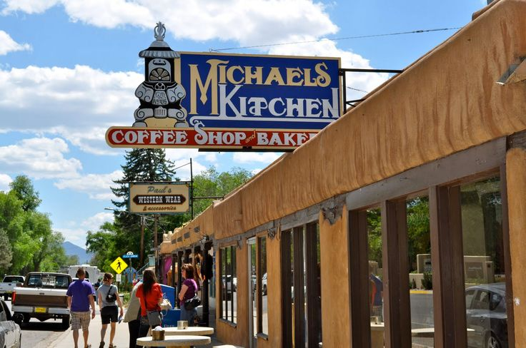 Michaels Kitchen, Taos, New Mexico - the best green chile in Taos!