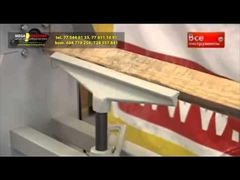 Tokarka do obróbki drewna PROMA DSO-1000 - YouTube
