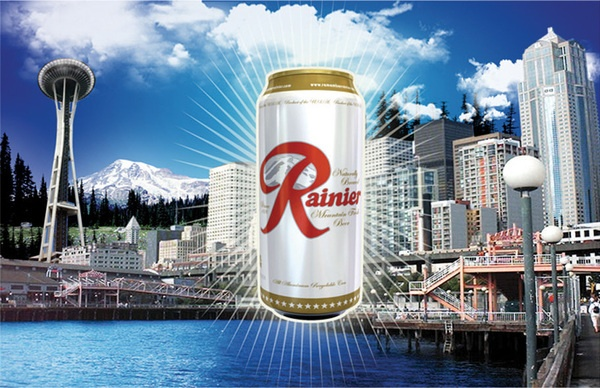 """rainier guys The first new rainier beer in 20 years is out — at  the beloved rainier beer has a new  and the old """"round up"""" with the guys in their easy chairs out ."""