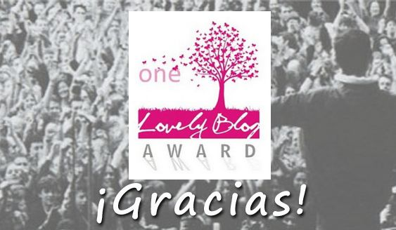 One Lovely Blog Award, ¡gracias!