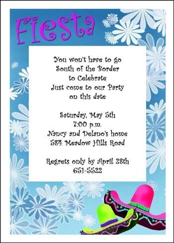 36 best Cinco de Mayo Mexican Party Invitations images on - gathering invitation sample