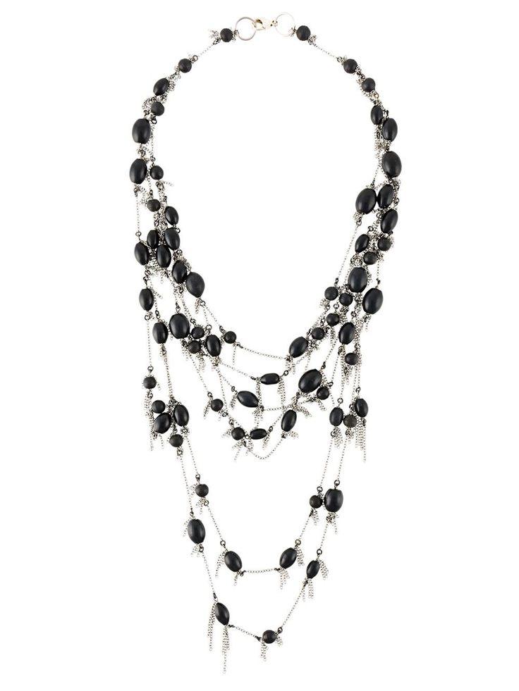 Marc Le Bihan длинное многослойное ожерелье