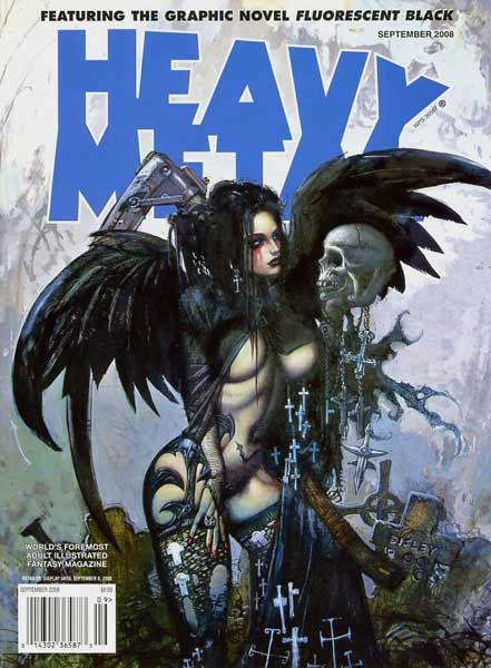 Heavy Metal Magazine - September 2008