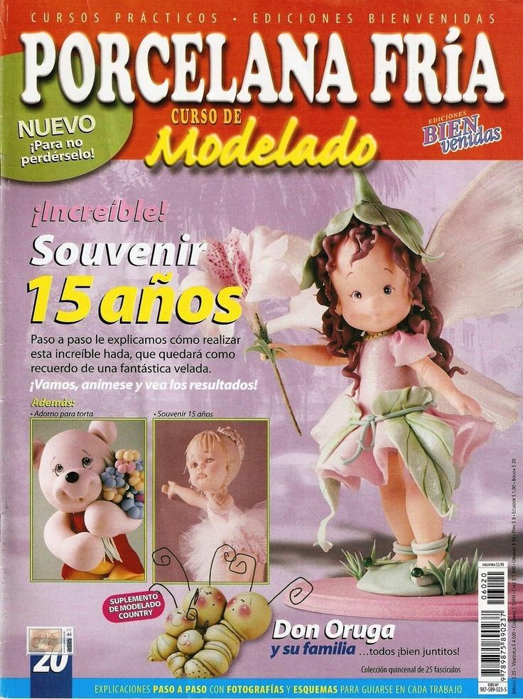 Revistas De Manualidades Para Descargar Porcelana Fria Nº 20
