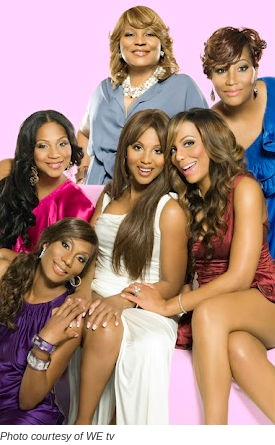 "Braxton Family Values: I never watched this show before but I was too lazy to change the station one day and I ended up watching a gang of episodes and the webisodes online. Now I'm hooked. I'm still not sold on ""Tamar & Vince"" mainly because Vince's friend gets way too much camera time. I want to see Vince more and the songwriter less. However, this reality show is the only one that I don't think is staged. And these sisters are ALL talented!"