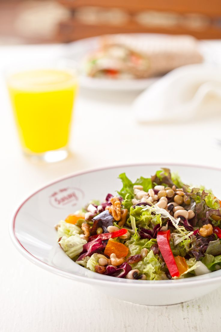Tahıl Baklagil Salatası