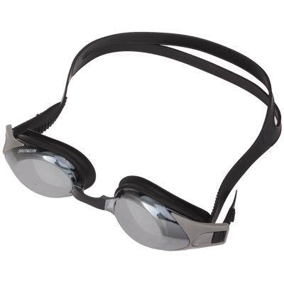EO 800 Degrees Myopia Professional Swimming Goggle with Ear Plug (Dark Grey)