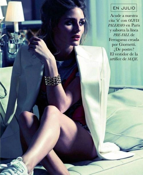 aintyourforte:    Olivia Palermo for Elle Spain July 2012, Shot by by David Burton