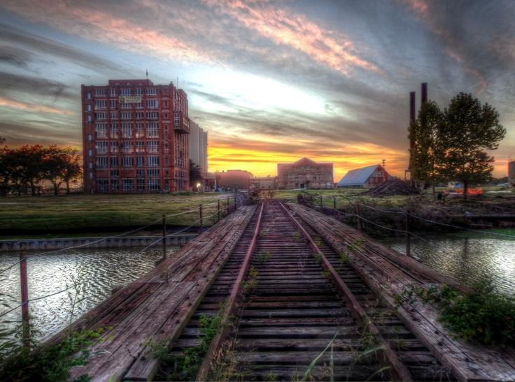 Imperial Sugar factory in Sugar Land, Texas - By Micah Goff