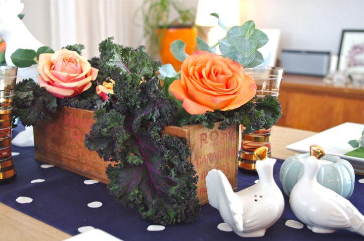 Veggie centre table