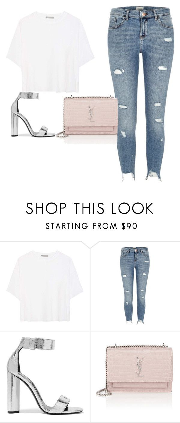 """""""Freestyler..."""" by jelenazugic ❤ liked on Polyvore featuring Vince, River Island, Tom Ford and Yves Saint Laurent"""
