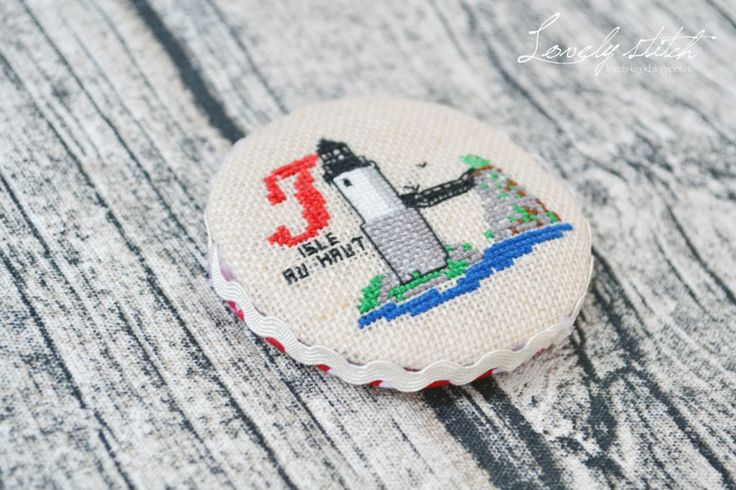 Lovely stitch: Магниты с маяками!