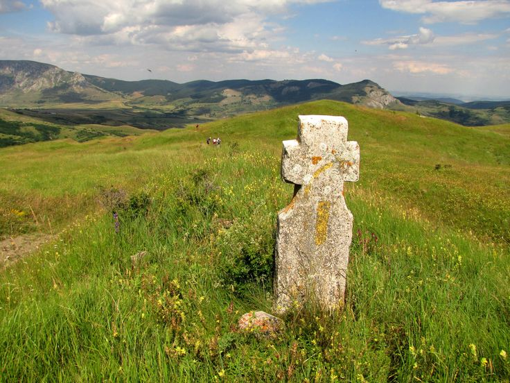 Old Cross on Trascau Mountains, Transilvania