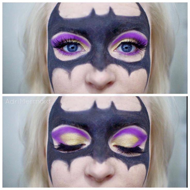 Batwoman Eye Makeup Cartooncreative