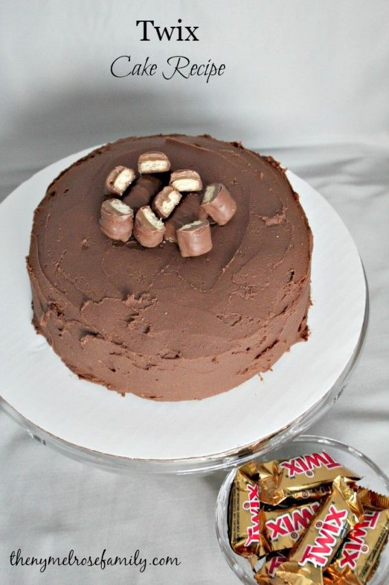 Twix Cake Recipe | The NY Melrose Family