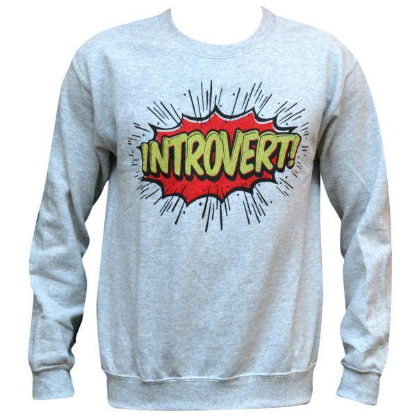'Introvert' Sweater